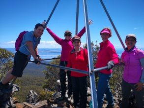 Maria Island - Mt Maria summit