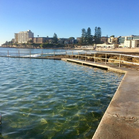SOPC North Cronulla Pool view