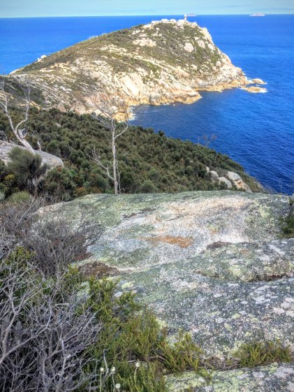 View to Wilsons Prom Lighthouse
