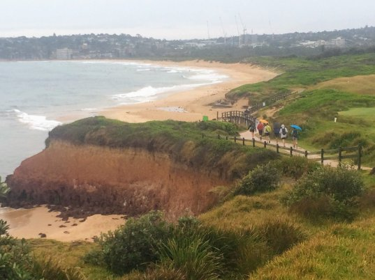 Walking Long Reef to Dee Why