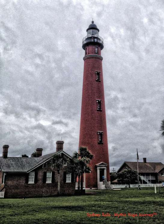 Mythic Yoga Journey™ Ponce Inlet, Florida Lighthouse.