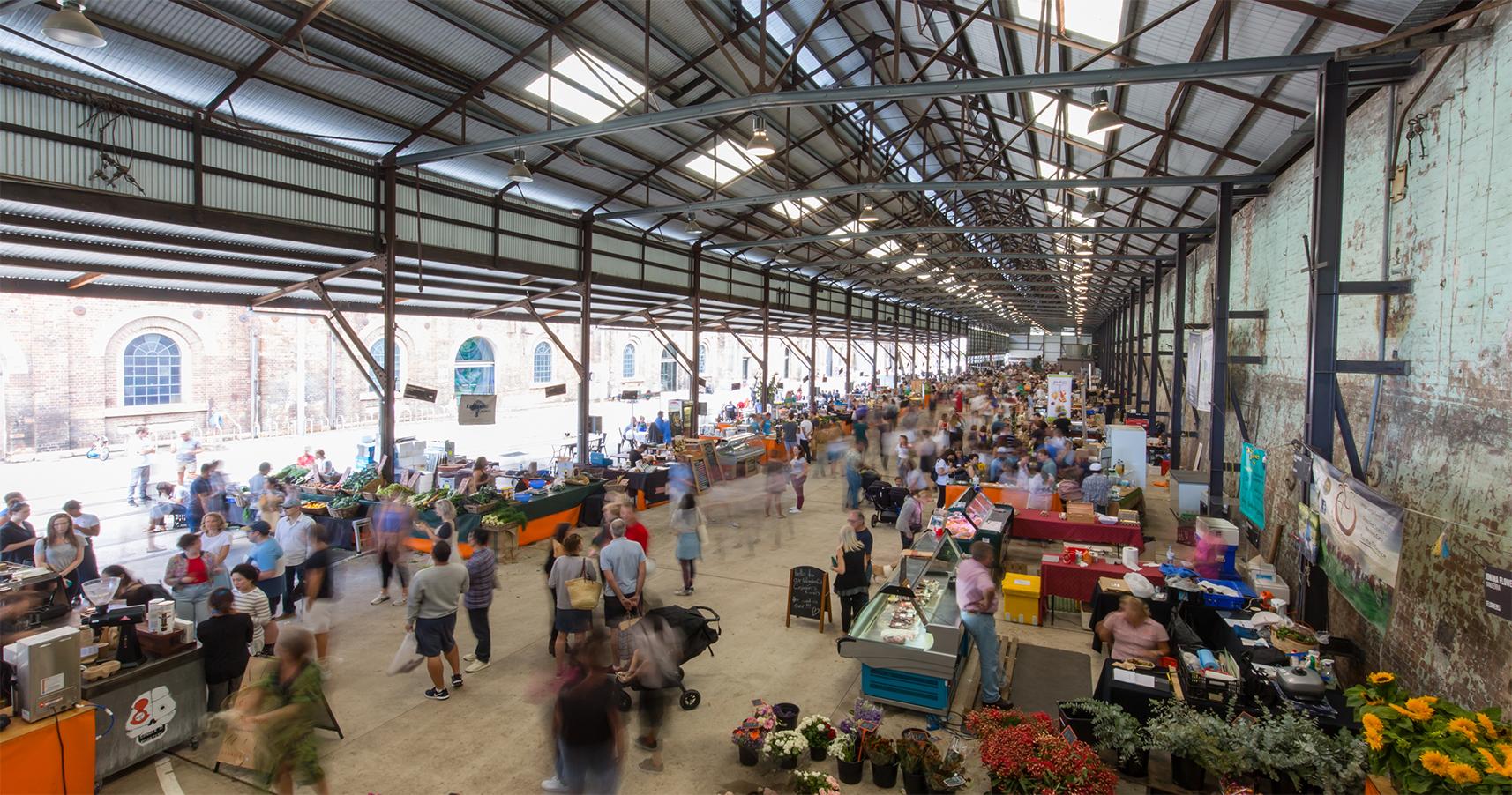 シドニーのフォトジェニックなCARRIAGEWORKS FARMERS MARKET(キャリッジワークス・ファーマーズ・マーケット) | REDFERN