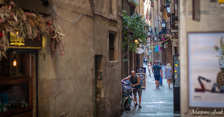 バルセロナの旧市街・ゴシック地区でお散歩 GOTHIC QUARTERS   BARCELONA