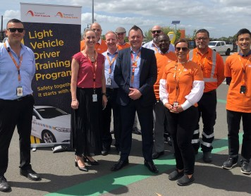Road safety event success