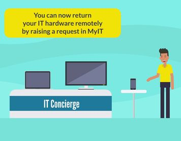 Returning IT hardware