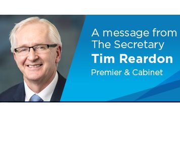 Message from Tim Reardon