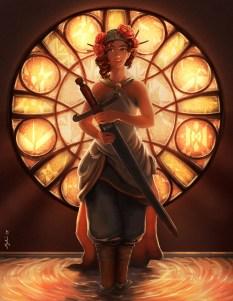 Princess - character design (digital painting)
