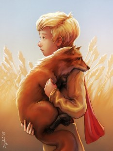 Le Petit Prince - completed painting