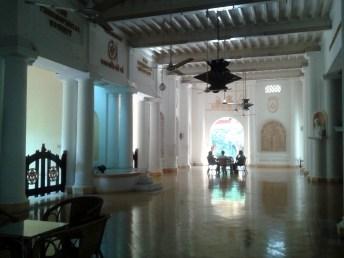 Le hall principal