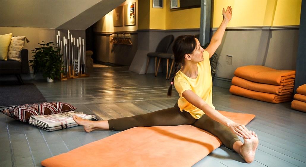 Prova på Yoga