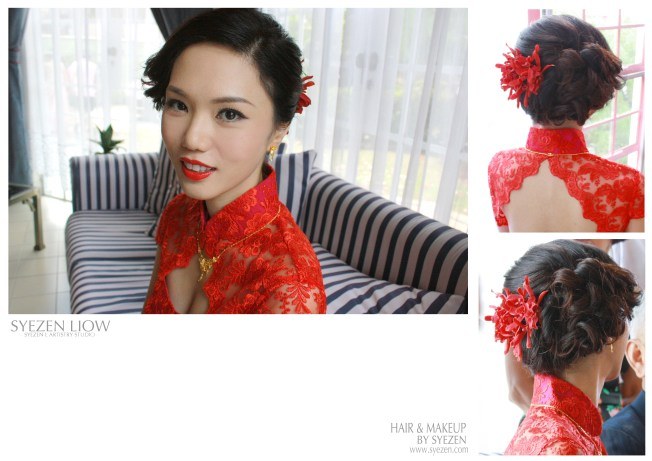 Trendy Chinese Bridal Look