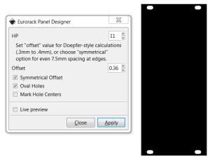 Eurorack Panel Design Extension for Inkscape
