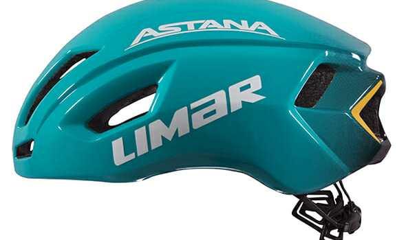 Astana og Limar med ny aerodynamisk hjelm
