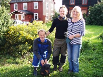 Petter, Ella og Ane Marit