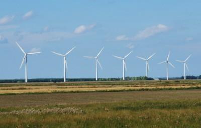 Mange vindmøller i Danmark!