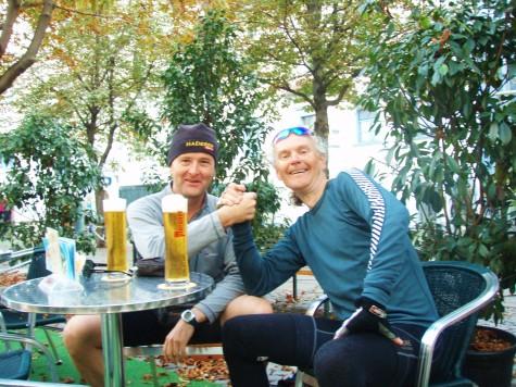Ølen i Graz smakte ekstra godt!