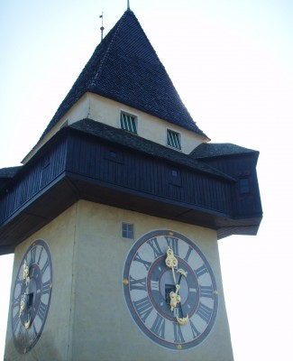 Klokketårnet på toppen!