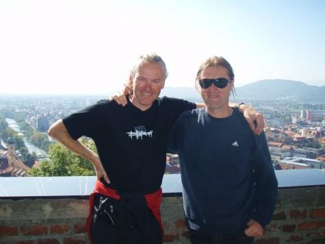 Thomas og meg i Graz!