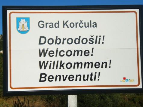 Styresmaktene på Korcula var fryktelig glade for at jeg kom!