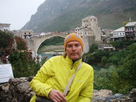Vått og kaldt i Mostar!