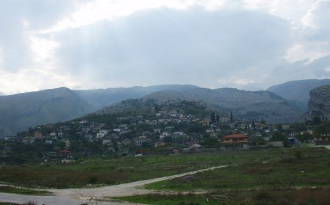 Albansk landsby i syd!