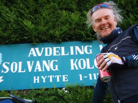 Godt å komme til samboer på Solvang kolonihage i Oslo!