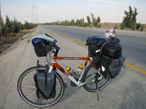4-felts motorvei er ikke noe særlig for syklister!