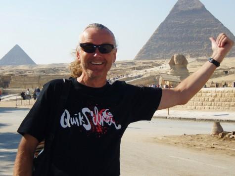 Godt å komme frem til Kairo og pyramidene!