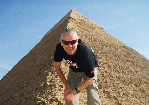 146 meter til toppen av Kheopspyramiden!