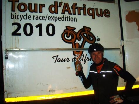 Man maa tidlig opp hvis man skal sykle til Cape Town!