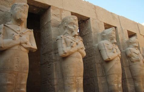 De var jaggu flinke med stein i Egypt!