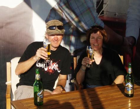 Godt med en hviledag i Luxor, synes Hilde og meg!
