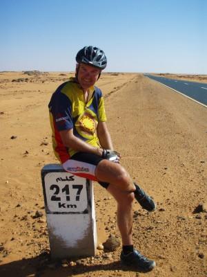 Kun 217 km. igjen til Khartoum