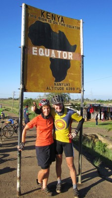 Her er beviset for passeringen av Ekvator 11. mars!