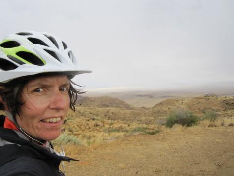 1. mai ble en lang dag i noe regn og motvind i det namibiske høylandet.