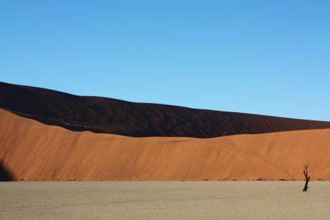 Tidlig om morgenen i den namibiske ørken!