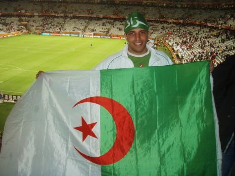 0-0 mot England ble feiret som en seier av fans fra Algerie!