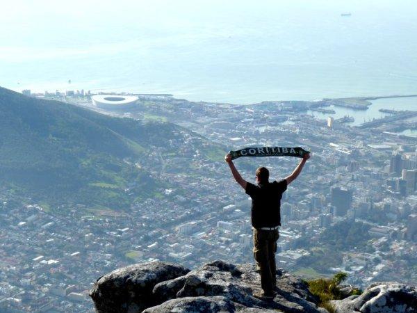 André i Cape Town