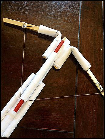 Homemade Toy Crossbow – Making A Pencil Paper Crossbow | BestPickr | 460x346