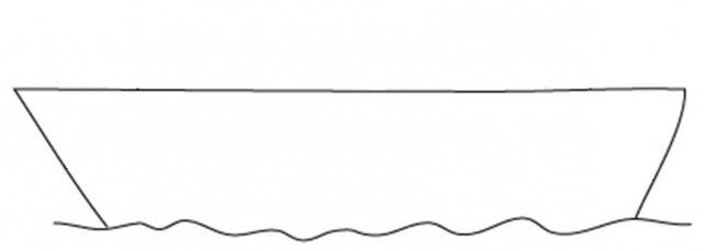 как нарисовать кораблик простым карандашом рисуем кораблик