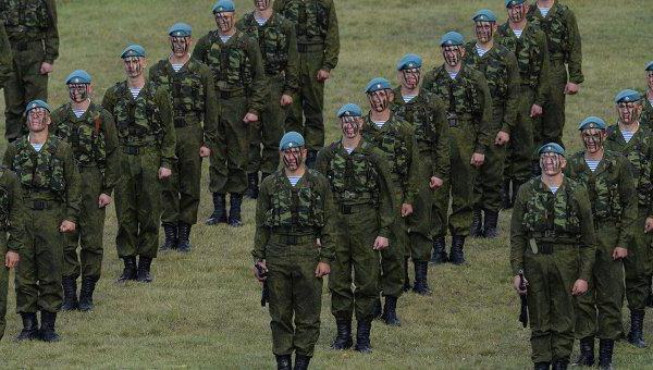 Парадная форма десантника СССР | 340x600