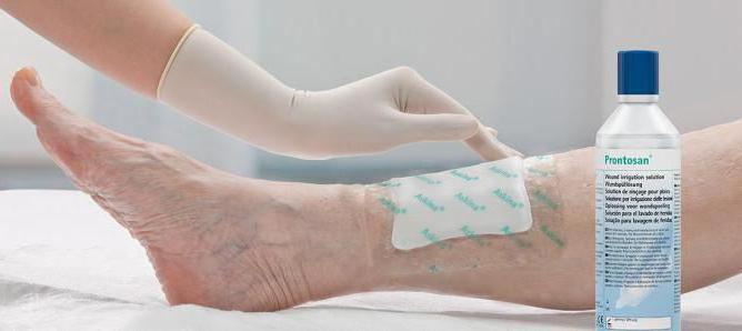 Мокнущая рана после операции чем лечить