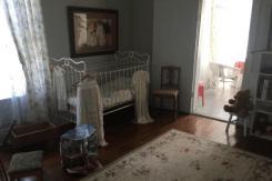 The nursery on the second floor.