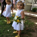 Our little flower girls