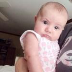Rhea is 3 months!