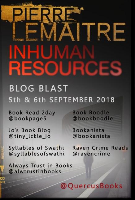 Inhuman Resources Blog Blast poster updated