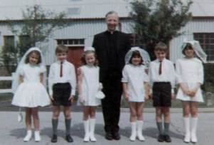 First communion in 60s