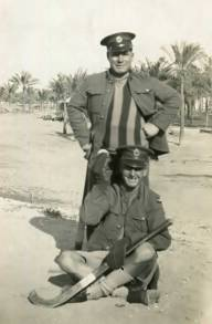 Grandpa serving in Egypt
