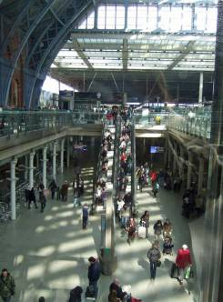 St. Pancras International was not too busy when we arrived.