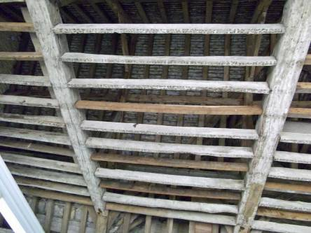 Restored Rafters at Kirby Hall
